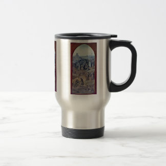 Christ Carrying The Cross [1]. By Hieronymus Bosch 15 Oz Stainless Steel Travel Mug