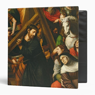 Christ Carrying the Cross Binder