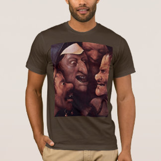 Christ Carrying The Cross.  By Hieronymu Bosch T-Shirt