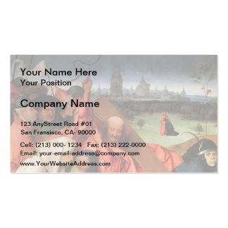 Christ Carrying the Cross by Hieronymus Bosch Double-Sided Standard Business Cards (Pack Of 100)