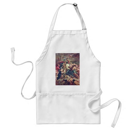 Christ Carrying The Cross By Rubens Peter Paul Adult Apron