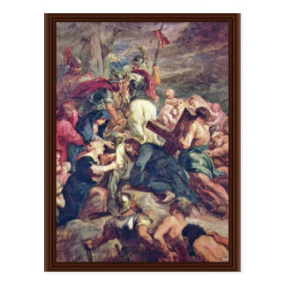 Christ Carrying The Cross By Rubens Peter Paul Postcard