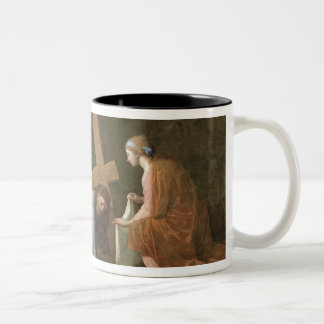Christ Carrying the Cross, c.1651 Two-Tone Coffee Mug