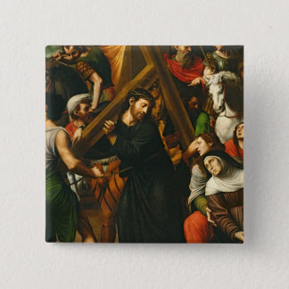 Christ Carrying the Cross Pinback Button