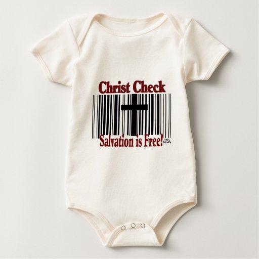 Christ Check! Baby Bodysuits