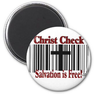 Christ Check! Refrigerator Magnets