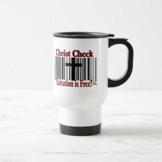 Christ Check! Travel Mug