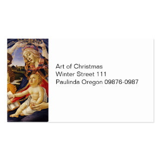 Christ Child Touching Scriptures Business Card