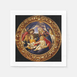 Christ Child Touching the Holy Scripture Napkin