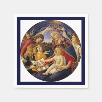 Christ Child Touching the Holy Scripture Paper Napkin