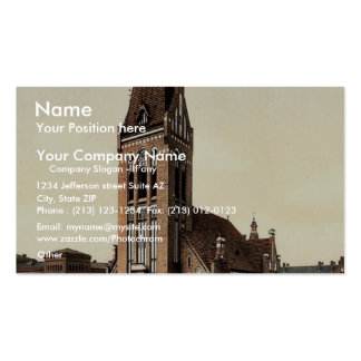 Christ Church, Bromberg, Silesia, Germany (i.e., B Business Card Templates