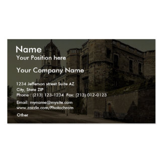 Christ Church College, Oxford, England rare Photoc Business Card