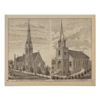 Christ Church, Red Wing, Minnesota Poster