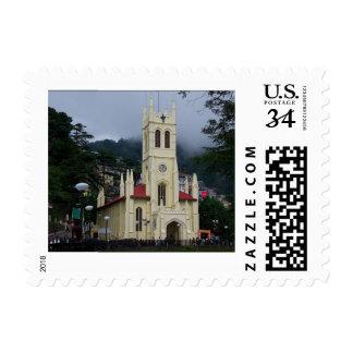 Christ Church (Shimla) Postage Stamp