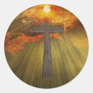 Christ Classic Round Sticker
