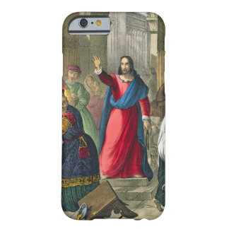 Christ Cleanses the Temple, from a bible printed b iPhone 6 Case