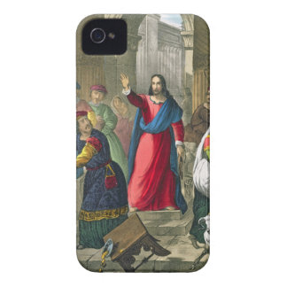 Christ Cleanses the Temple, from a bible printed b Case-Mate iPhone 4 Case