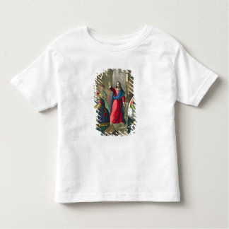 Christ Cleanses the Temple, from a bible printed b Toddler T-shirt