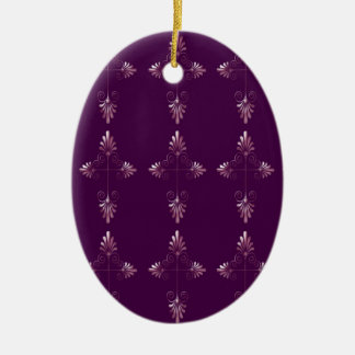 Christ Consciousness - Grape Oval Ornament