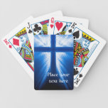Christ Cross Bicycle Poker Deck