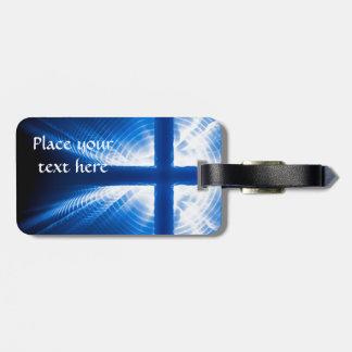 Christ Cross Travel Bag Tag