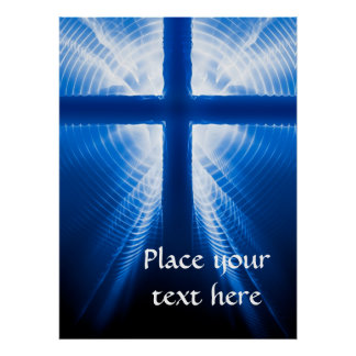 Christ Cross Poster