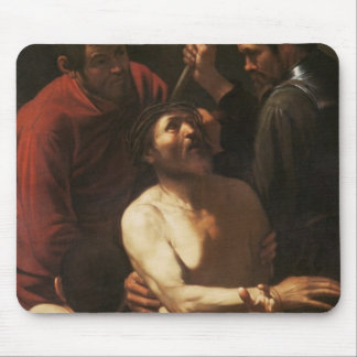 Christ Crowned by Thorns, c.1602 Mouse Pad