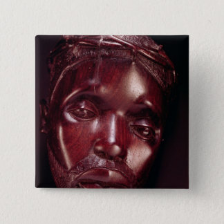 Christ Crowned with Thorns Button