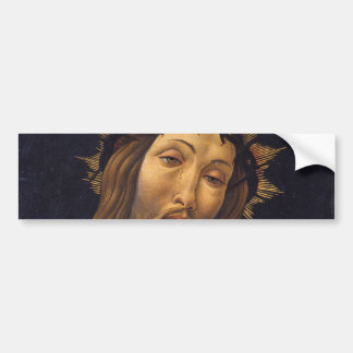 Christ Crowned with Thorns by Botticelli Bumper Sticker