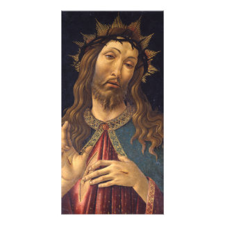 Christ Crowned with Thorns by Botticelli Photo Greeting Card