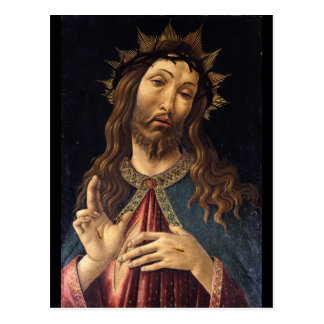 Christ Crowned with Thorns by Botticelli Postcard