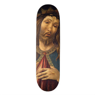 Christ Crowned with Thorns by Botticelli Skateboard Decks
