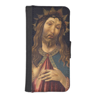 Christ Crowned with Thorns by Botticelli Wallet Phone Case For iPhone SE/5/5s