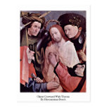 Christ Crowned With Thorns. By Hieronymus Bosch Post Card