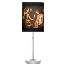 Christ Crowned with Thorns Table Lamp