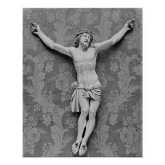 Christ Crucified, by Michelangelo Buonarroti Poster