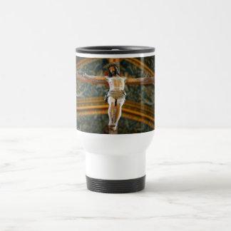 Christ Crucified Travel Mug