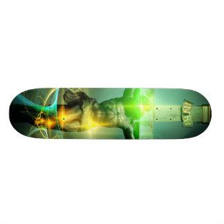 Christ Defeating Death Skateboard