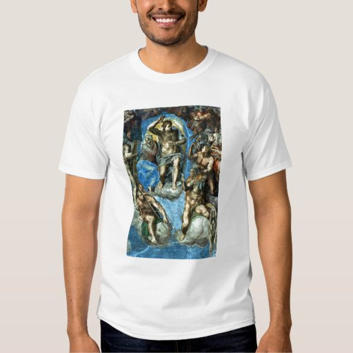 Christ, detail from 'The Last Judgement' Tee Shirts