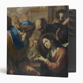 Christ Disputing with the Doctors, c.1660's Vinyl Binders