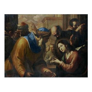 Christ Disputing with the Doctors, c.1660's Postcard