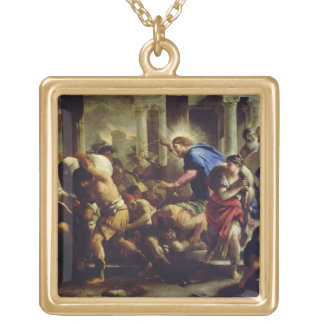 Christ Driving the Merchants from the Temple Pendants
