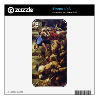 Christ Driving the Merchants from the Temple iPhone 4 Decal