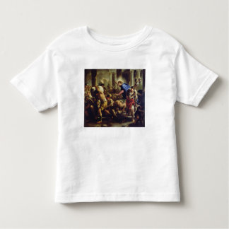 Christ Driving the Merchants from the Temple Tshirts