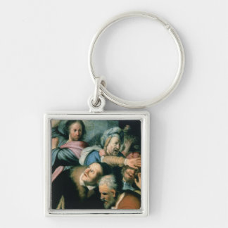 Christ Driving the Moneychangers Key Chains