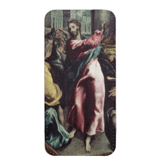 Christ Driving the Traders from the Temple iPhone SE/5/5s/5c Pouch