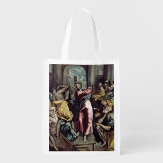 Christ Driving the Traders from the Temple Market Totes
