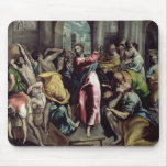 Christ Driving the Traders from the Temple Mouse Pad