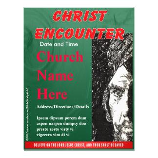 Christ Encounter Flyer Green