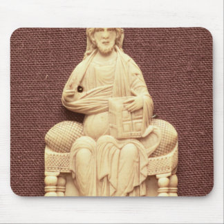 Christ enthroned, Byzantine, 10-11th century Mouse Pad